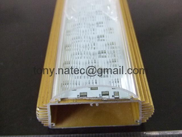 T12燈罩,T12透明燈罩,T12光擴散罩,T12波紋燈罩  4