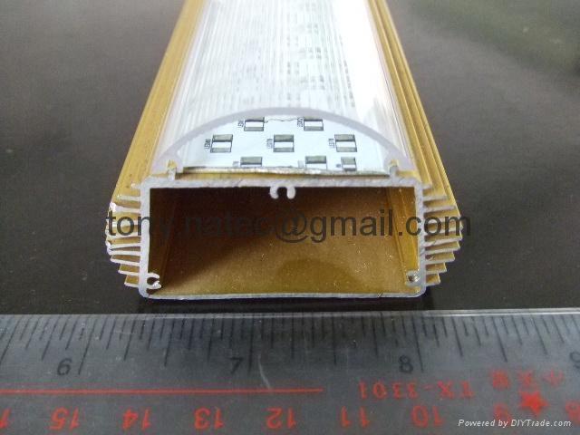 T12燈罩,T12透明燈罩,T12光擴散罩,T12波紋燈罩  5