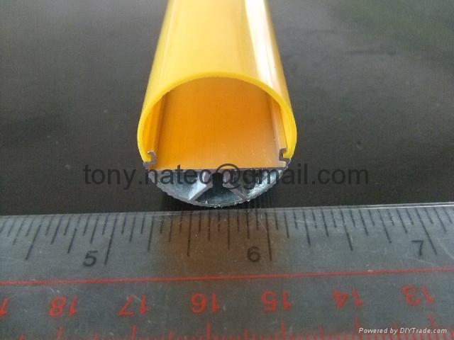 2/3  T8 opal diffuser, T8 tube cover, T8 led strip profiles