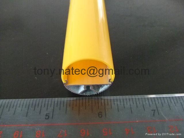 T8燈罩-2/3, T8磨砂燈罩,T8光擴散燈罩 2