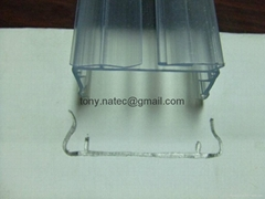 clear pvc price holder,supermarket PVC price holder,PVC price holder