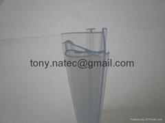 PVC异型材,PVC软硬共挤异型材,PVC透明标价条