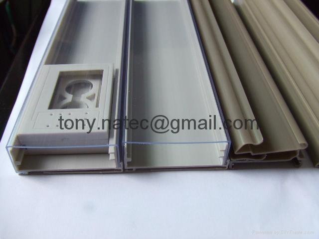 PVC挤塑加工,PVC挤塑异型材,PVC超市标签条 3