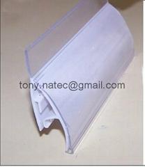 PVC挤塑加工,PVC挤塑异型材,PVC超市标签条