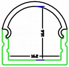 LED Track profiles for ceiling, led system profiles,aluminum extrusion profile