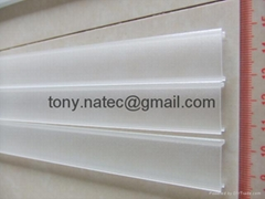 recessed LED lighting,pmma opal cover, led strip profile
