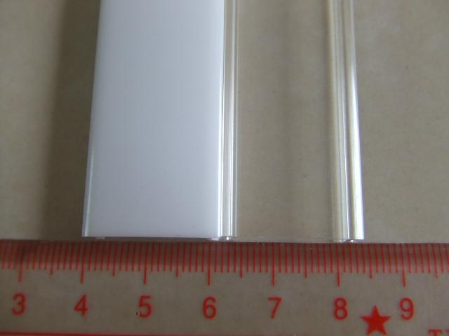 recessed LED lighting,pmma opal cover, led strip profile 2