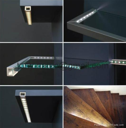 Aluminum profiles, glass showcases led profile,LED profiles 2