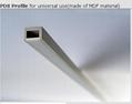 Aluminum profiles, glass showcases led profile,LED profiles 4