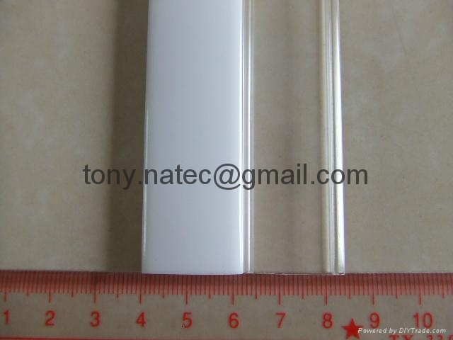 PMMA透明燈罩,PMMA擠押加工,PMMA異型材 2