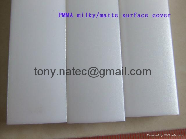 LED Strip Profile,PMMA diffuser,pmma frosted cover 4