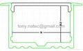 Master XL LED Strip Profile,Recessed