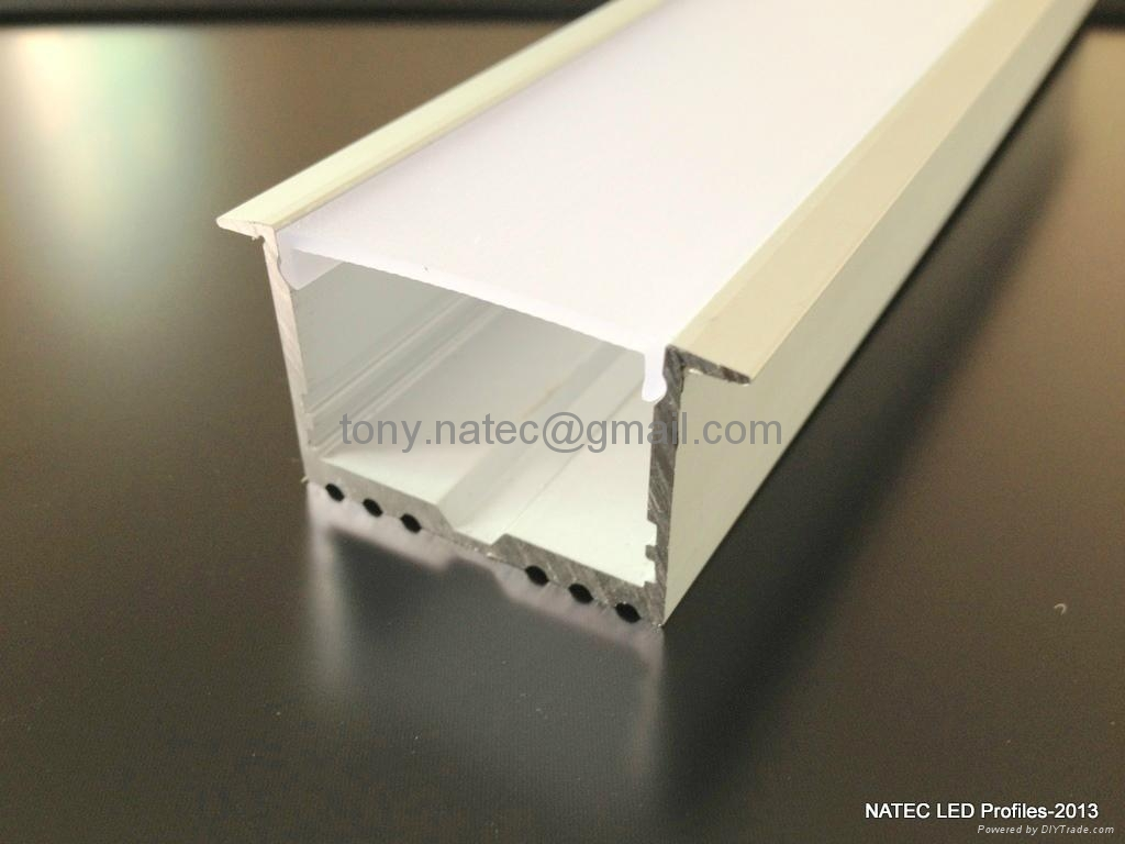 Master Xl Led Strip Profile Recessed Power Line 35mm For