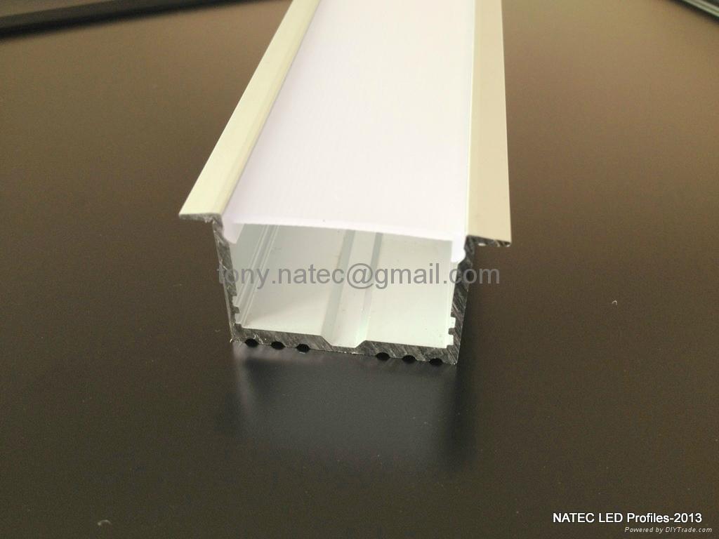 master xl led strip profile recessed power line 35mm for ceiling led. Black Bedroom Furniture Sets. Home Design Ideas