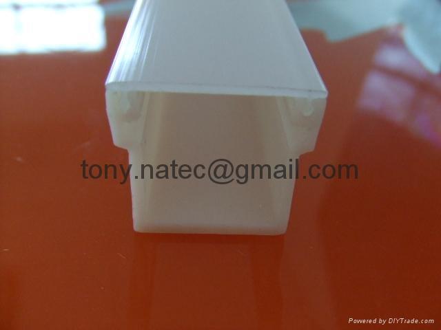 PMMA磨砂灯罩 PMMA挤塑型材 LED灯罩 1
