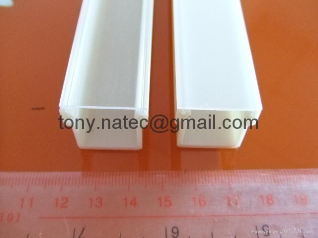 PMMA磨砂燈罩 PMMA擠塑型材 LED燈罩 3
