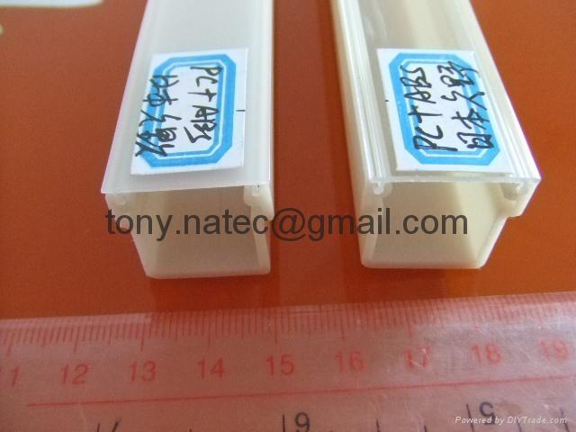 PMMA磨砂灯罩 PMMA挤塑型材 LED灯罩 4
