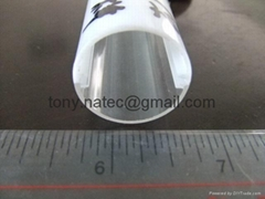light diffuser led cover,PC Extrusion TUBE,recessed led profile