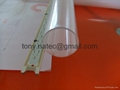 Extrution LED tube,recessed led profile,pc frosted cover