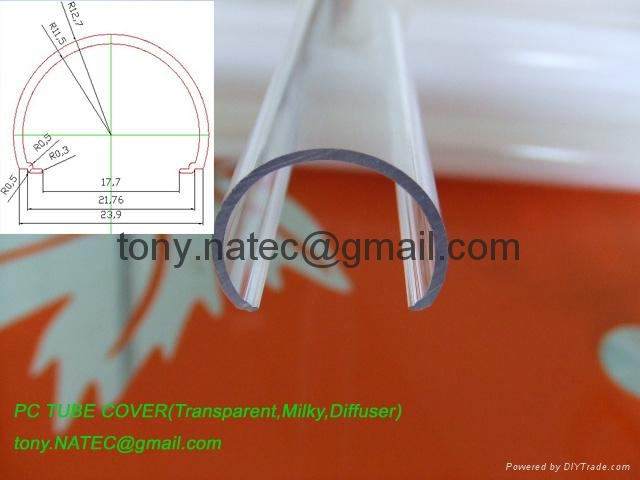 led diffuser cover,pc clear cover 1