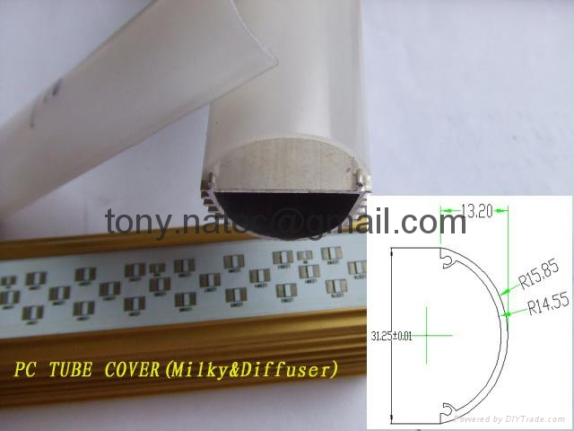 Aluminum LED profile ,recessed led profile