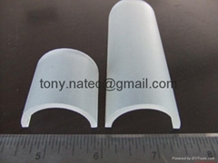 PMMA frosted/matte cover,recessed led profile