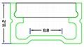 led ground profile,LED floor nosing