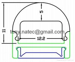 LED Profiles, led system profile, led lenses, led track profile
