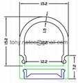 Linear LED system Profile - Hanging Rail