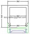 led Wall profiles,led Building Profile
