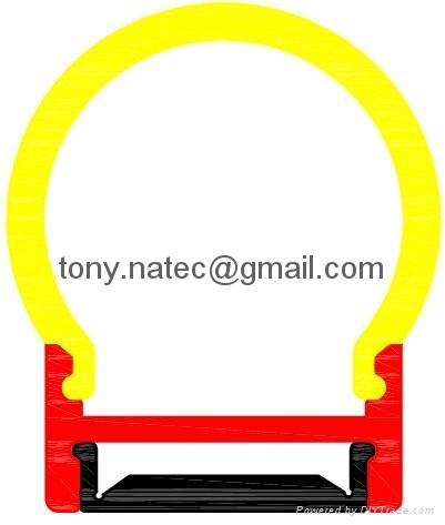 led diffuser cover,pc opal cover,Aluminum led profiles 2