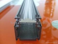 Aluminum LED Profile,led lens profile, led clear diffuser,led track bar