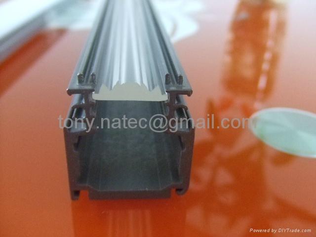Aluminum LED Profile,led lens profile, led clear diffuser,led track bar 2