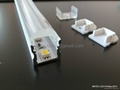 linear led profile with 10 degree,led lens profile, pmma clear diffuser