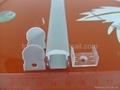 linear led profile with 10 degree,led lens profile, pmma clear diffuser