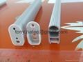 LED closet rod profiles, closet led profiles,LED wardrobe profile