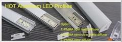 LED Aluminum Extrusions, LED Profiles, LED Accessories