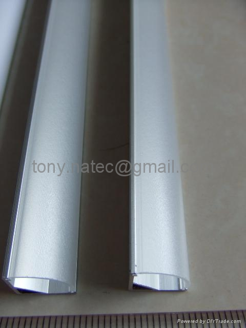 Aluminum LED profiles, Aluminum LED profile with frosted cover
