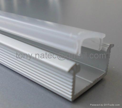 quality aluminum led profile slim line 80 mm china manufacturer. Black Bedroom Furniture Sets. Home Design Ideas
