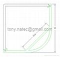 30x30mm led aluminium extrusion profile,led corner profile