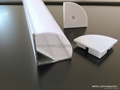 30x30mm led profile, led corner profile for wall solutions