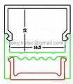 Surface Mounted Aluminium LED Profile