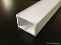 surface Power line 35x25mm for ceiling lighting, CoverLine Aluminium LED Profile 4