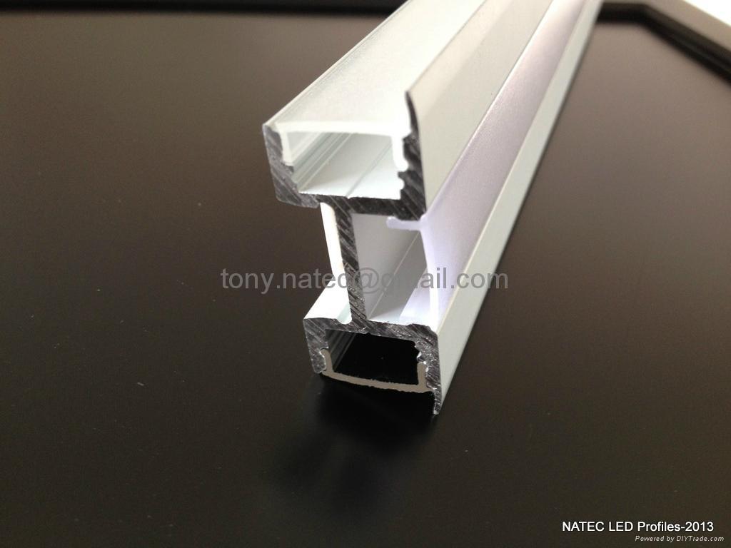 Multi Wall Profile Led Profiles Aluminum Extrusion
