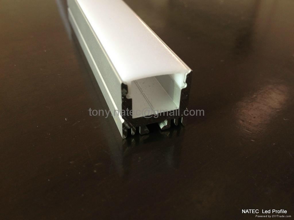 Aluminium led profile aluminium led housing high power led profiles c503 natec china - Profile alu led ...