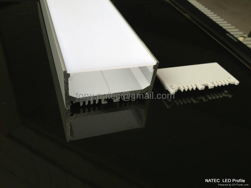 LED Channel Systems,suspension kit Aluminium led profile with opal cover-48mm 3