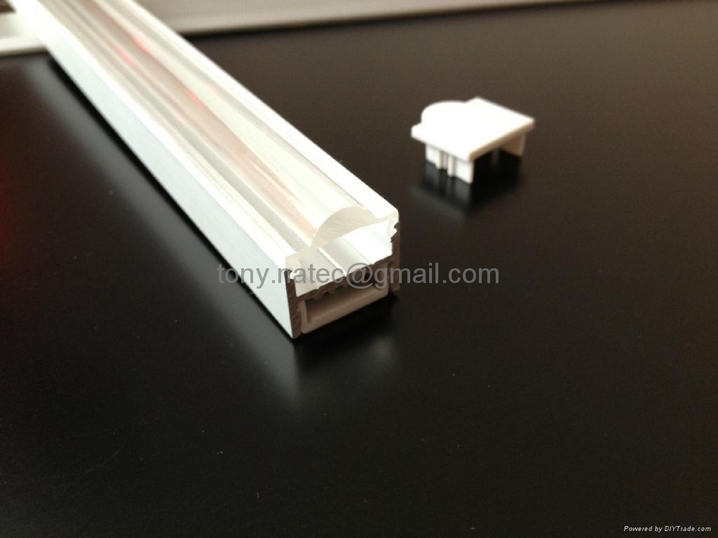 LED Profiles Extrusions, extrusions for LED,led lens profile 4