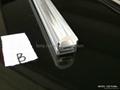 led lens profile with 60 degree,LED Track profiles,led Lens profile
