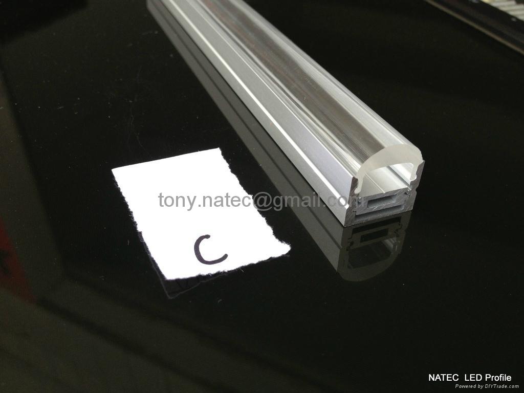 LED Lenses  profile with 30 degree,led aluminum profile 1