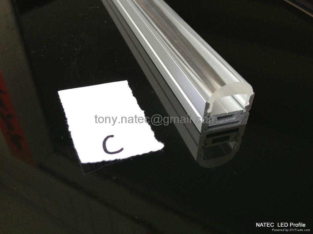 LED Lenses  profile with 30 degree,led aluminum profile 2